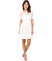 Donna Morgan - Short Sleeve Lace Fit and Flare