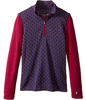 Smartwool - Mid 250 Pattern Zip Tee (Little Kids/Big Kids)