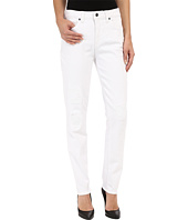 Miraclebody Jeans - Ricky Rip and Repair Skinny Jeans in Blanco White