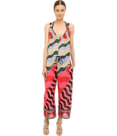 M Missoni - Stripe Jumpsuit Cover-Up