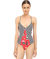 M Missoni - Circus Strip One-Piece