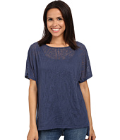 Miraclebody Jeans - Paige Pleat Back Top w/ Body-Shaping Inner Shell
