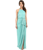 Badgley Mischka - Draped Pleated Sequin