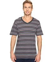 Tommy Bahama - Yarn-Dye Cotton Modal Jersey V-Neck Tee