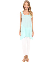 Allen Allen - Scoop Neck Angled Tunic