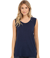 Allen Allen - Sleeveless Tee Stripe Back