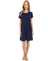 Allen Allen - Short Sleeve Sweatshirt Dress