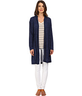 Nally & Millie - Long Sleeve Midi Cardigan with Pleated Back