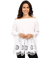 Adrianna Papell - Embroidery Voile Off Shoulder