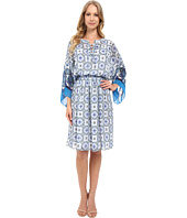 Adrianna Papell - Print Chiffon Loose Fit Dress