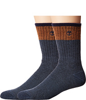 Timberland - Wool Crew 2-Pack Socks