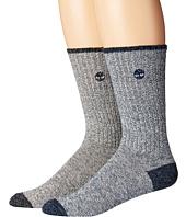 Timberland - Marled 2-Pack Crew Socks