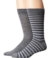 Timberland - Marled 2-Pack Pattern Crew Socks