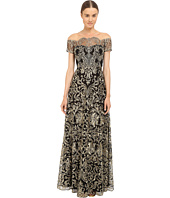 Marchesa Notte - Fully Embroidered Gown