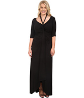 Kiyonna - Divine Draped Maxi Dress