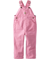 Carhartt Kids - Canvas Bib Overall/Flannel Lined (Toddler)
