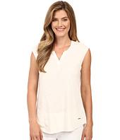 Calvin Klein Jeans - Short Sleeve Solid Henley