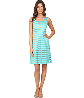 Adrianna Papell - Illusion Banded Fit & Flare Dress
