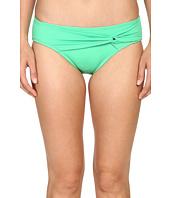 Tommy Bahama - Pearl Twist-Front High-Waist Bikini Bottom
