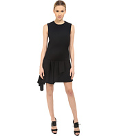 Neil Barrett - Asymmetric Volant Straight Dress