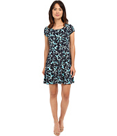 MICHAEL Michael Kors - Nandina Cap Flare Dress