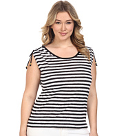 MICHAEL Michael Kors - Plus Size Pindo Ruched Top