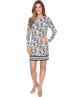 MICHAEL Michael Kors - Small Pompano Long Sleeve Border Dress