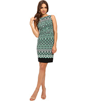 Donna Morgan - Twist Front Matte Jersey Dress