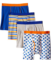 Trimfit - Football Cotton Boxer Briefs 4-Pack (Toddler/Little Kids/Big Kids)