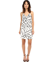 Adelyn Rae - Woven Sheath Dress w/ Back Strap Detail