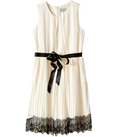 Us Angels - Sleeveless Pleated Chiffon Dress w/ Lace Trim Skirt (Big Kids)