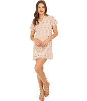 Brigitte Bailey - Xandra Short Sleeve Lace Dress with Tassels