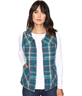 Stetson - Teal Ombre Plaid Quilted Vest