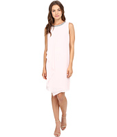 Christin Michaels - Jenna Jewel Neck Shift Dress