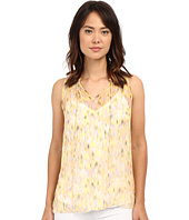 Lucky Brand - Feminine Pleated Tank Top