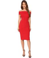 YIGAL AZROUËL - Off Shoulder Mechanical Stretch Dress