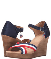 TOMS - Strappy Wedge Election Charms