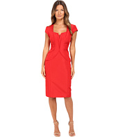Zac Posen - Silk Faille Cap Sleeve Dress