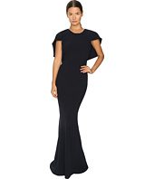 Zac Posen - Stretch Cady Capelet Gown