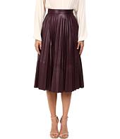 Prabal Gurung - Pleated Leather Skirt
