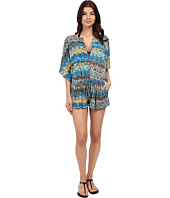 Red Carter - Viper Romper Cover-Up
