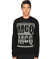 McQ - Fair Isle Crew Neck
