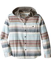 Billabong Kids - Horizon Long Sleeve Button Up Shirt (Big Kids)