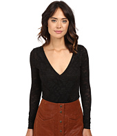 Free People - Sneaky Surplice Bodysuit