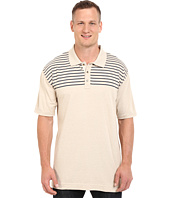 Nautica Big & Tall - Big & Tall Chest Stripe Polo Shirt