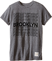 The Original Retro Brand Kids - Brooklyn New York Short Sleeve Tri-Blend Tee (Little Kids/Big Kids)