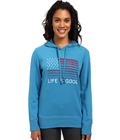 Life is Good - Flag Stripe Go-To Pullover Hoodie