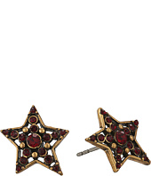 Marc Jacobs - Charms Pave Star Studs Earrings
