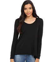 Culture Phit - Antonella French Terry Hooded Long Sleeve Top