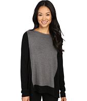 Karen Kane - Color Block Sweater Knit Top